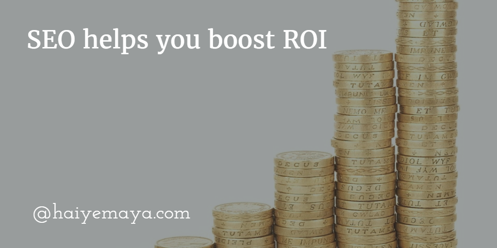 seo help to boost ROI